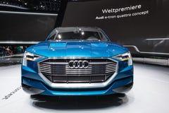 Έννοια quattro Audi ε -ε-tron στο IAA 2015 Στοκ εικόνες με δικαίωμα ελεύθερης χρήσης