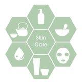Έννοια Skincare Στοκ Εικόνα