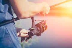 Έννοιες αλιείας Στοκ Εικόνες
