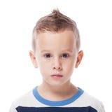 Ένοχο αγόρι Στοκ Φωτογραφία