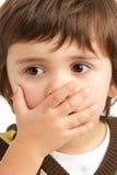 ένοχο να φανεί αγοριών νεο Στοκ εικόνες με δικαίωμα ελεύθερης χρήσης
