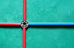 Ένσφαιρος τριβέας σε πράσινο Στοκ εικόνες με δικαίωμα ελεύθερης χρήσης