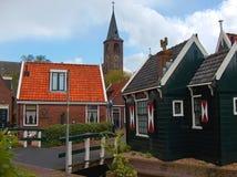 Ένταμ Volendam Στοκ φωτογραφίες με δικαίωμα ελεύθερης χρήσης