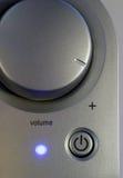 ένταση του ήχου ισχύος Στοκ εικόνα με δικαίωμα ελεύθερης χρήσης