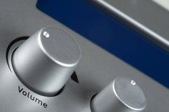 ένταση του ήχου κουμπιών Στοκ Εικόνα