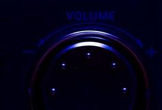 ένταση του ήχου Στοκ Εικόνα