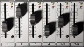 ένταση του ήχου Στοκ Εικόνες