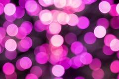 Έντονο φως χρώματος με μορφή κύκλων Στοκ Εικόνα