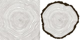 δέντρο δαχτυλιδιών απεικόνιση αποθεμάτων
