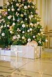 δέντρο κουνελιών Χριστο&up Στοκ Εικόνες