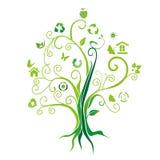 Δέντρο προστασίας του περιβάλλοντος Στοκ Φωτογραφία