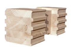 ένωση άκρης ξύλινη Στοκ Φωτογραφία