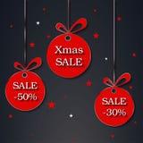 Ένωση έκπτωσης πώλησης Χριστουγέννων στοκ εικόνες με δικαίωμα ελεύθερης χρήσης