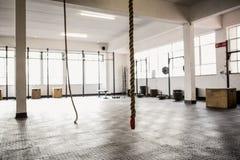 Ένωση και εξοπλισμός σχοινιών άσκησης Στοκ φωτογραφία με δικαίωμα ελεύθερης χρήσης