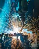 Ένωση ρομπότ Στοκ φωτογραφίες με δικαίωμα ελεύθερης χρήσης