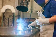 Ένωση σε ένα βιομηχανικό εργοστάσιο Στοκ φωτογραφία με δικαίωμα ελεύθερης χρήσης
