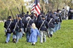 ένωση στρατιωτών πορείας Στοκ Φωτογραφία