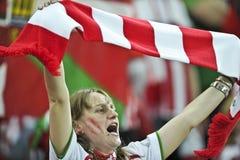 Ένωση τελικό Βουκουρέστι 2012 UEFA Ευρώπη Στοκ Εικόνες