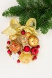 ένωση Χριστουγέννων σφαιρώ Στοκ εικόνα με δικαίωμα ελεύθερης χρήσης