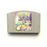 Ένωση Nintendo 64 γρίφων Pokémon κασέτα παιχνιδιών στοκ φωτογραφίες με δικαίωμα ελεύθερης χρήσης