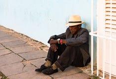 Ένδεια στην Κούβα - το Τρινιδάδ, Κούβα Στοκ Εικόνα