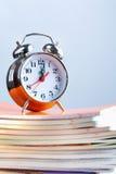 'Ένδειξη ώρασ' και copybooks Στοκ εικόνα με δικαίωμα ελεύθερης χρήσης