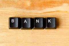 λέξη τραπεζών Στοκ Εικόνες