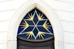 Έξι-δειγμένο αστέρι Στοκ Εικόνες