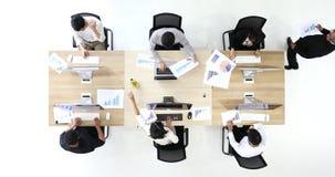 Έξι επιχειρηματίες ένας ύπνος, απόθεμα βίντεο