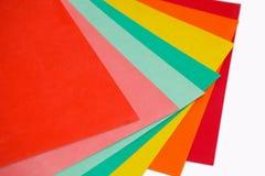 Χρωματισμένο έγγραφο Στοκ φωτογραφία με δικαίωμα ελεύθερης χρήσης