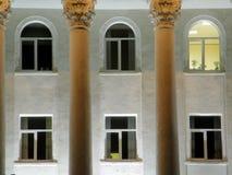 έξι Windows Στοκ φωτογραφία με δικαίωμα ελεύθερης χρήσης