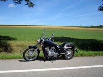 έξοδος μοτοσικλετών Στοκ Εικόνα