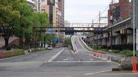 Έξοδος της μητροπολιτικής οδού ταχείας κυκλοφορίας στην πόλη Yokohama φιλμ μικρού μήκους