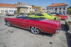 1966 έξοχη αθλητική 2-πόρτα Chevrolet Impala μετατρέψιμη Στοκ Εικόνα