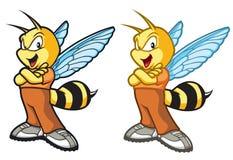 Έξοχη μέλισσα Στοκ φωτογραφία με δικαίωμα ελεύθερης χρήσης