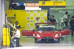 έξοχη ομάδα της Ιαπωνίας hazemi της GT του 2009 motorsports Στοκ εικόνα με δικαίωμα ελεύθερης χρήσης
