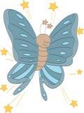 Έξοχη πεταλούδα αστεριών Στοκ Φωτογραφίες