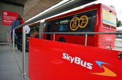 Έξοχη σαΐτα Skybus Στοκ φωτογραφία με δικαίωμα ελεύθερης χρήσης