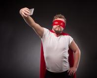 Έξοχο άτομο ηρώων που κάνει τις φωτογραφίες Στοκ φωτογραφία με δικαίωμα ελεύθερης χρήσης