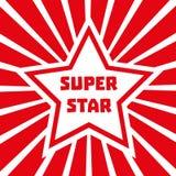 Έξοχο αστέρι Στοκ εικόνα με δικαίωμα ελεύθερης χρήσης