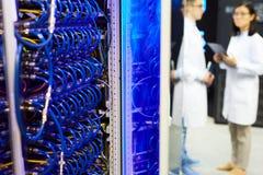 Έξοχο ερευνητικό κέντρο υπολογιστών Στοκ φωτογραφίες με δικαίωμα ελεύθερης χρήσης