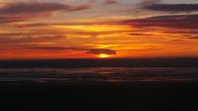 Έξοχο ηλιοβασίλεμα φοράδων του Weston Στοκ φωτογραφία με δικαίωμα ελεύθερης χρήσης
