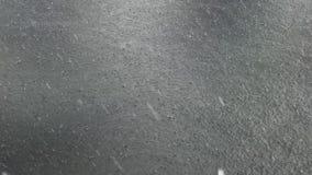 Έξοχο σε αργή κίνηση μήκος σε πόδηα της έκχυσης της βροχής απόθεμα βίντεο