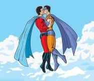 Έξοχο φιλί διανυσματική απεικόνιση