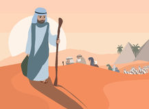 Έξοδος από την Αίγυπτο Στοκ φωτογραφία με δικαίωμα ελεύθερης χρήσης