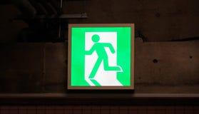 Έξοδος κινδύνου Στοκ Φωτογραφία