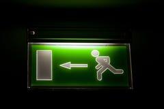 έξοδος κινδύνου Στοκ φωτογραφία με δικαίωμα ελεύθερης χρήσης