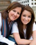έξοδος μητέρων κορών Στοκ Εικόνες