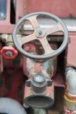 Έξοδος νερού πυροσβεστικών οχημάτων Στοκ φωτογραφία με δικαίωμα ελεύθερης χρήσης