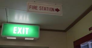 Έξοδος & πυροσβεστικός σταθμός, δείκτης φιλμ μικρού μήκους